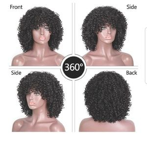 Nwt 14in synthetic fiber wig.